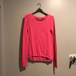 Hot pink Hollister sweater